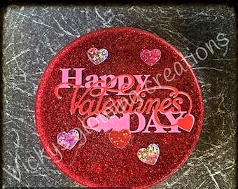 Valentine's coasters