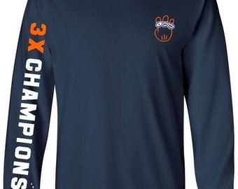 Broncos Shirt, Denver Broncos Super Bowl Champions Shirt, 3X, three time champs, broncos shirt, Denver broncos shirt,denver,superbowl
