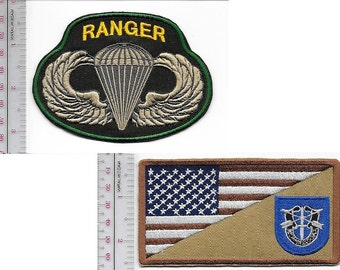 Ranger US Army 19th Special Forces Group Airborne & Ranger Parachutist Wings