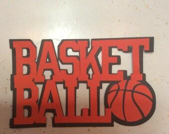 Basketball Die Cut
