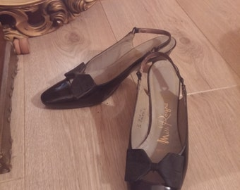 Patent Leather 60's Ladies Shoes