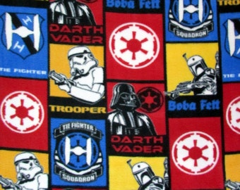 FLEECE Star Wars Patch Fabric From Camelot