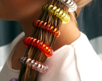 SPIRAL HAIR BOBBLES