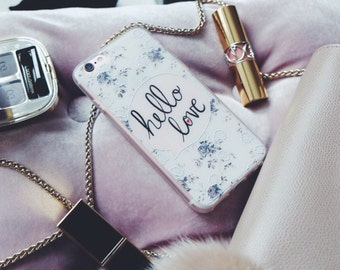 """Hello Love matte TPU iphone 6 cases (fit 4.7"""")"""
