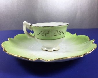 ACRA China Demi Cup with Saucer