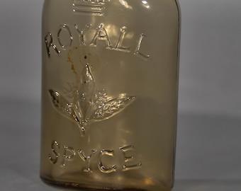 "Vintage ""Royall Spyce"" Cologne Bottle - A00040"
