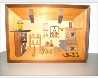 wandbild holz etsy. Black Bedroom Furniture Sets. Home Design Ideas