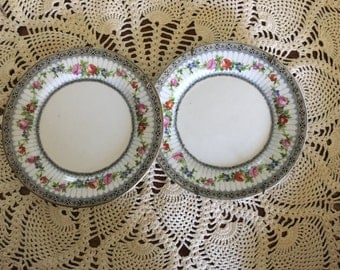 Antique Fine China Plates