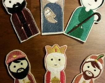 Nativity Finger Puppets Set of 6