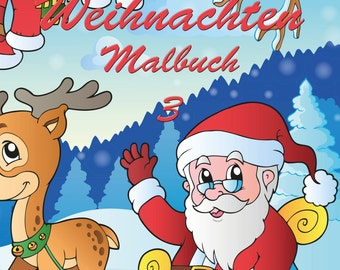 Weihnachten Malbuch 3