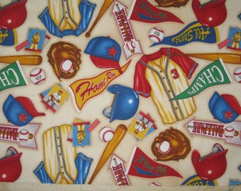 Baseball Pennants Fabric