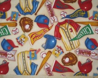 Baseball Pennants Fabric