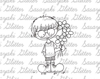 Yours Only Digital Stamp By Sasayaki Glitter