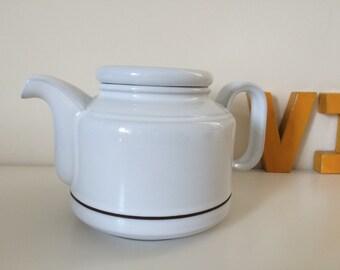 Vintage hornsea alaska teapot 1970s
