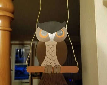 Hanging owl