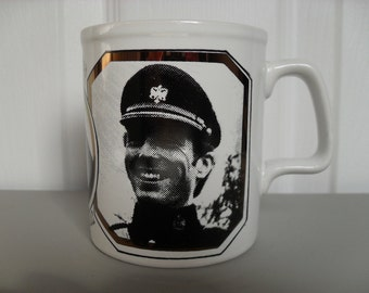 Royal Wedding Ann and Mark Mug 1973