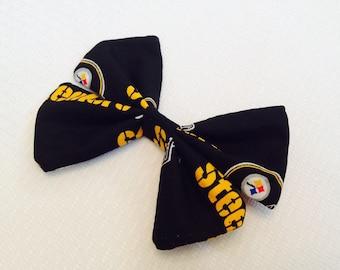 Pittsburgh Steeler's Football Hair Bow