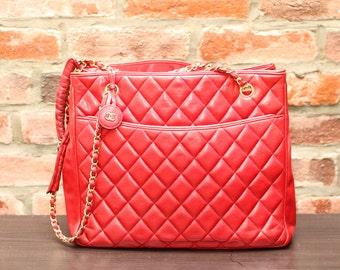 Vintage Quilted Chanel handbag
