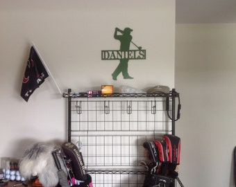 Personalized/Customized Golfer's Sign