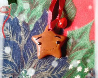 Christmas star choco