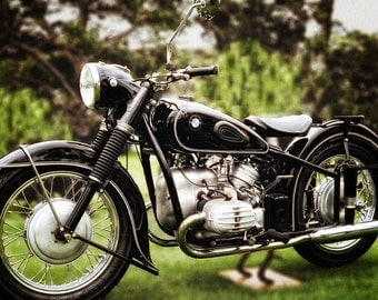 BMW R75/5 Version 2, Metal Prints, Motorcycle Prints, Motorcycle Art, Wall Art, Photography, Prints, Gifts for Him, Home Décor