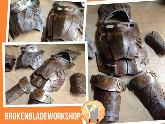 Handmade fallout custom metal armor the hippie corner