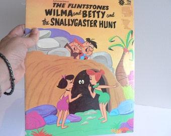 Vintage Flintstone's Book -Giant Dura Book