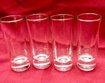 Long Shot Glasses - Set of Four