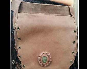 Crystal Pouch Belt