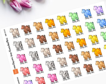 HUMP DAY Planner Stickers  CAM00149
