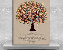 You Believed In Me Poem Personalized Gift For Mothers Day Tree Gift From Daughter Custom Art Print Choose Paper Canvas Or Metal #1311