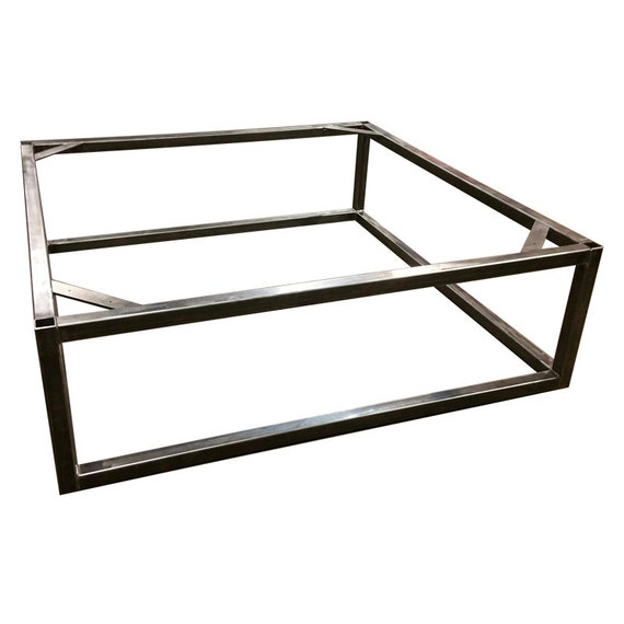 Brickmakers Coffee Table Frame Square Tubing Frame