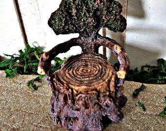 Miniature Tree Stump Chair
