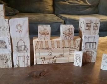 Customized children's blocks