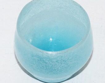 Aqua glass Votive Holder - 561