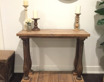Slender Leg Entry Console Table