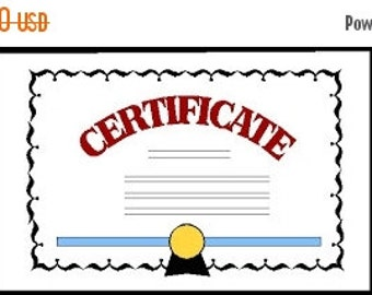 ON SALE 40% Certificate for the Gemstone and Diamond