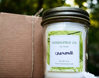Luxury Handpoured Organic Soy Candle