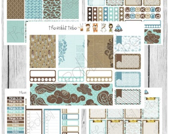 Freestyle Planning - Fly Away Kit - planner stickers