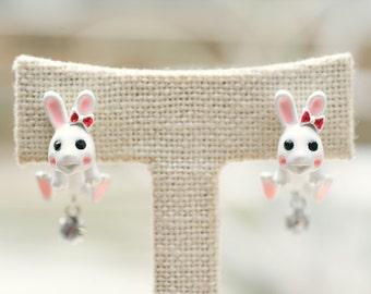 The Happy Jumping Rabbit Earrings