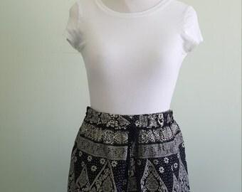 thai batik shorts