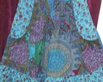 Adorable hippie boho tube dress or skirt