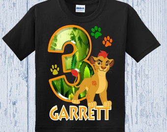 Lion Guard Birthday Shirt - Lion Guard Shirt - Different Styles Available