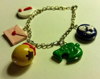 Animal Crossing Charm Bracelet