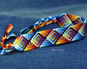 Custom Woven Friendship Bracelet - Made To Order -
