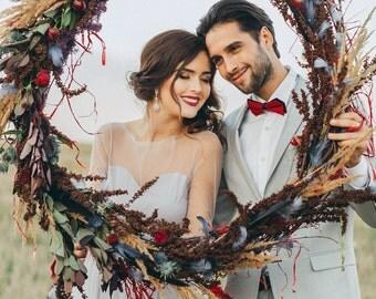 Grey wedding dress / Salvia