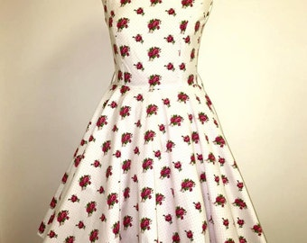 Rockabilly roses dress