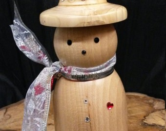 Handmade snowman, Christmas decorations