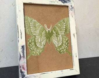 Shabby chic picture frames, wood picture frame