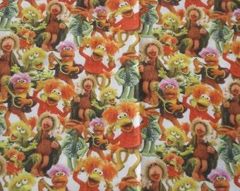 Fraggle rock fabric